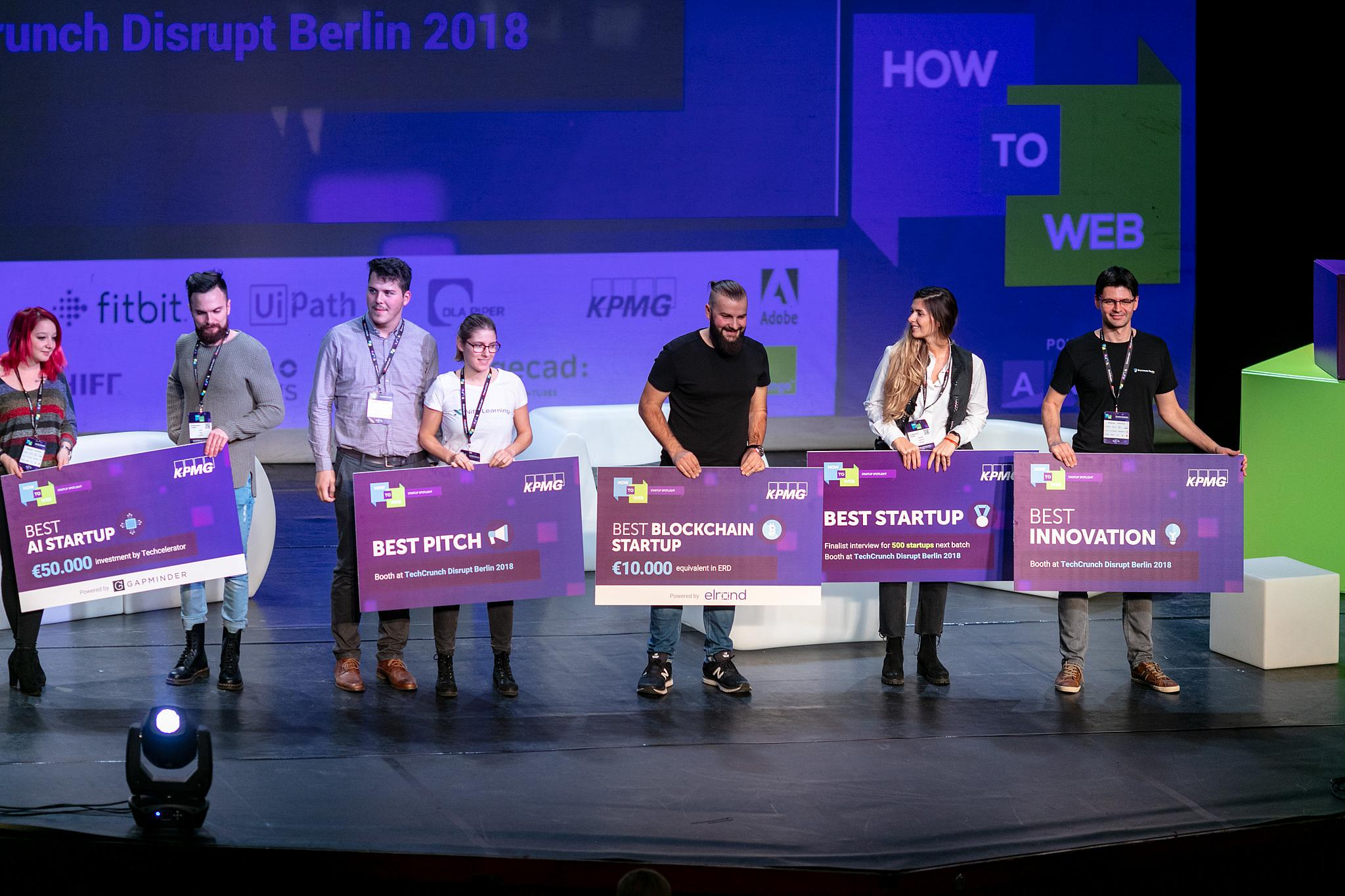 How to Web 2019: €125K for the best startup at Startup Spotlight